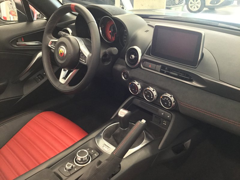 Abarth 124 Spider 124 Spider Turbo Multiair 125kW -