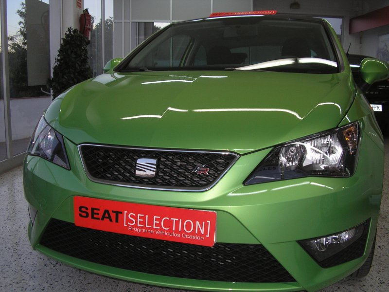 seat ibiza sc 1 6 tdi cr 105 cv fr diesel verde con 9000kms en olesa de montserrat barcelona. Black Bedroom Furniture Sets. Home Design Ideas